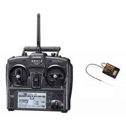 Sanwa Exzes-ZZ Stick Radio + RX-472 Receiver