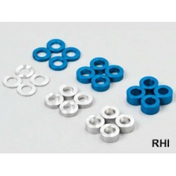 TRF 5,5mm Alu Spacer Set