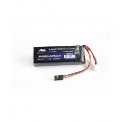 AM Lipo 2400mAh 2S TX/RX 7.4V Flat Pack