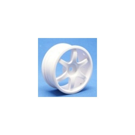 Ride 6 Spoke Nylon Wheel - White