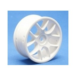 Ride 10 Spoke Nylon Wheel Set 24mm - White