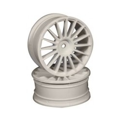 Ride 16 Spoke Nylon Wheel Set - White
