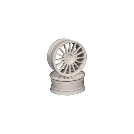 Ride 16 Spoke Nylon Wheel Set - White