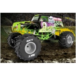 Axial - SMT10 Grave Digger Monster Jam Truck 1/10th Scale Electric 4WD – RTR