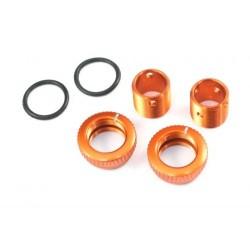 Radtec Aluminum Body Height Fine Adjuster Set 6mm - Orange