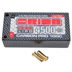 Team Orion Carbon Pro 4500mAh/100C, 7.4 volts shorty