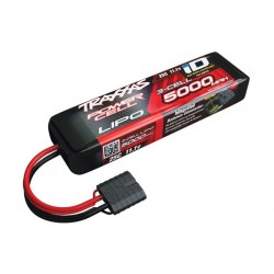 Power Cell LiPo 5000mAh 11.1V 3S 25C ,ID Summit, E-Revo Sl