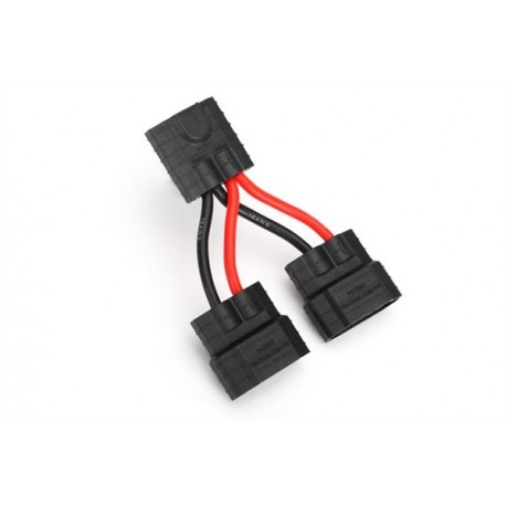 traxxas wire harness parallel battery connection id compatible