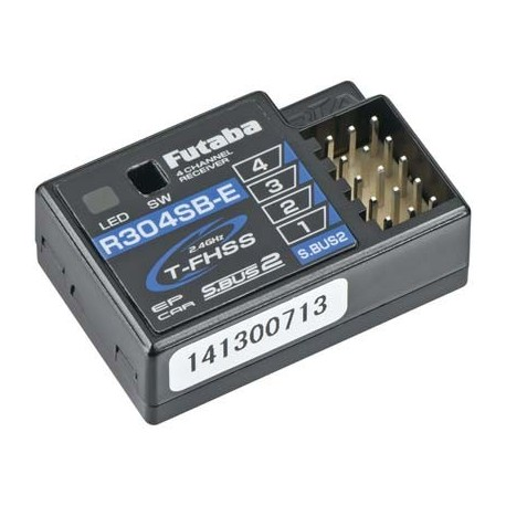 Futaba R304SBE S.Bus2 4-Channel T-FHSS Telemetry Rx