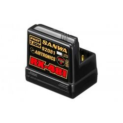 Sanwa RX-481 Receiver 2.4GHz F FH3,FH4, 4-channel, integrat