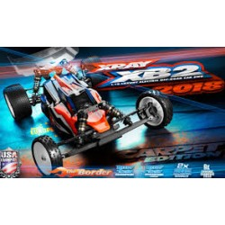 XRAY XB2 - 2018 SPECS  - 2WD 1/10 ELECTRIC OFF-ROAD CAR - CAR