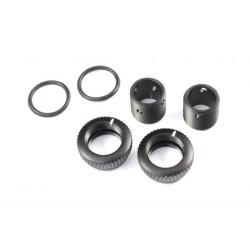 Radtec Aluminum Body Height Fine Adjuster Set 6mm - Black