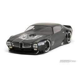 1971 Pontiac Firebird Trans Am Clear Body for VTA Class