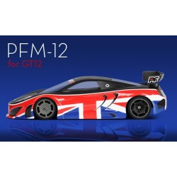 Protoform PFM-12 Clear Body for GT12