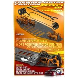T2'009 Rubber-spec Conversion Set - Forward Motor Position