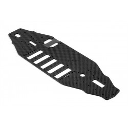 T2'008 Chassis 2.5mm Graphite 5-Cell Rubber-Spec