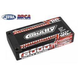Team Corally - Voltax 120C LiPo HV Battery - 8000 mAh - 3.8V - 1S Hardcase - 4mm Bullit