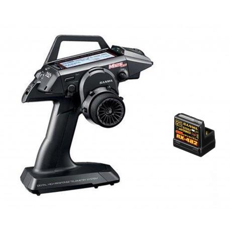 Sanwa M12S-RS Radio + RX-482 Receiver