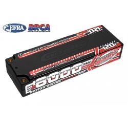 Team Corally - Voltax 120C LiPo HV Battery - 8000 mAh - 7.6V - Stick 2S - 4mm Bullit