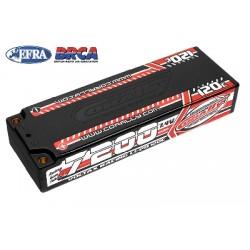 Team Corally - Voltax 120C LiPo Battery - 7200mAh - 7.4V - Stick 2S - 4mm Bullit