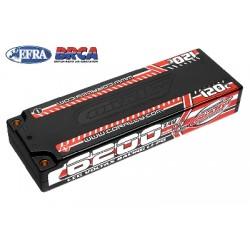 Team Corally - Voltax 120C LiPo Battery - 6200mAh - 7.4V - LCG Stick 2S - 4mm Bullit