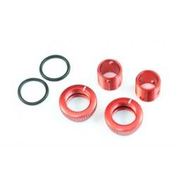 Radtec Aluminum Body Height Fine Adjuster Set 6mm - Red