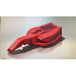 P-ONE 02024-10 - Formula one body F18 1:10