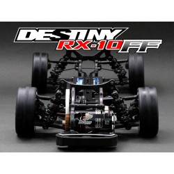 Destiny Japan RX-10FF 1/10 Scale Front Wheel Drive Competition Touring Car Kit