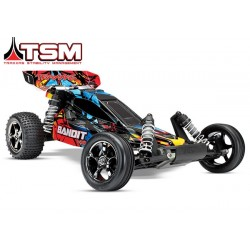 Traxxas Bandit VXL Brushless 2.4 GHz (incl battery TSM