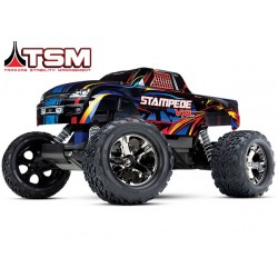 Traxxas Stampede VXL BrushlessBleutooth optional TSM no battery/charger