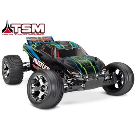 Traxxas Rustler VXL Brushless With TSM