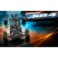 XRAY XB4 2019 - 4WD 1/10 ELECTRIC OFF-ROAD CAR Met Voucher TWV €20