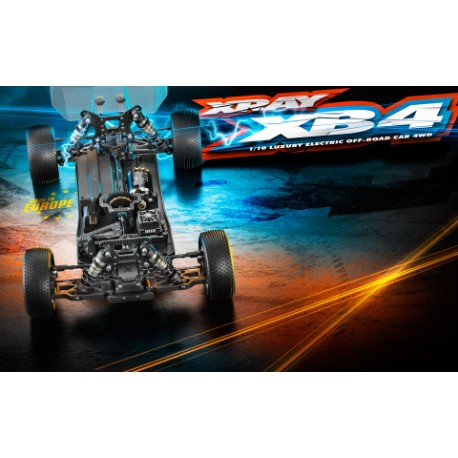 XRAY XB4 2019 - 4WD 1/10 ELECTRIC OFF-ROAD CAR (PRE-ORDER)