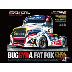 Tamiya 1/14 R/C Buggyra Racing Fat Fox (TT-01 Type-E) (PRE-ORDER)