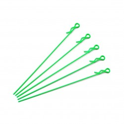 Extra Long Body Clip 1/10 - Fluorescent Green (5)