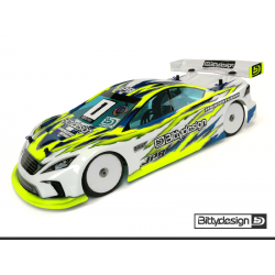 Bittydesign 1/10 Touring JP8 190mm Clear Body (Ultra Lightweight)