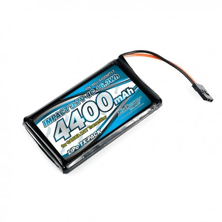 Muchmore IMPACT Li-Po Battery 3200mAh/3.7V 4C for Sanwa MT-44 Transmitter
