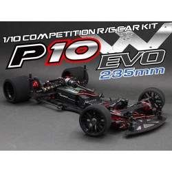 Roche Rapide P10W EVO 1/10 235mm Competition Pan Car Kit