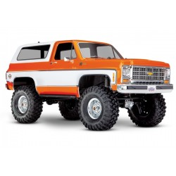 Traxxas TRX-4 Chevy K5 Blazer Crawler TQi XL-5 (no battery/charger), Orange