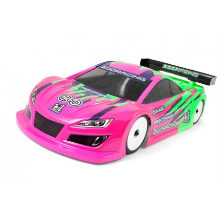 Zoo-Racing PreoPard 1:10 Touring Car Clear Body - 0.5mm LIGHTWEIGHT
