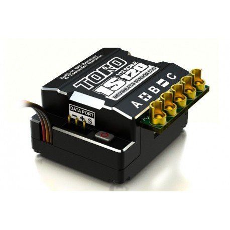 SkyRC TORO 1S120 1/12 Sensored Brushless ESC 120Amp