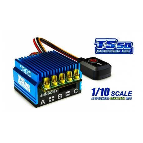 SkyRC TORO TS50 1/10 Sensored Brushless ESC 50Amp